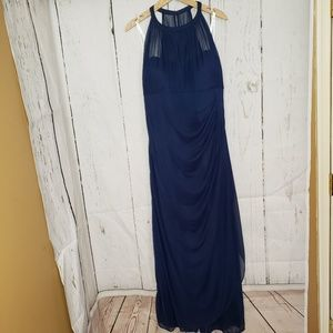David's Bridal Navy Mother of the Groom Dress 18